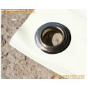 Bâches pour terrasse en PVC - 680 gr - 2 x 3 m - blanche