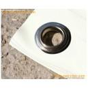 Bâches pour terrasse en PVC - 680 gr - 3 x 5 m - blanche