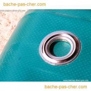 B ches pour bassins 6 x 8 m bleue bache pas cher for Bache pour bassin exterieur pas cher