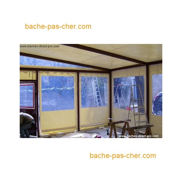 b ches pour pergola 5 8 x 6 m transparente bache pas cher. Black Bedroom Furniture Sets. Home Design Ideas