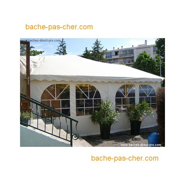 b ches pour terrasse 3 8 x 4 m transparente bache pas cher. Black Bedroom Furniture Sets. Home Design Ideas