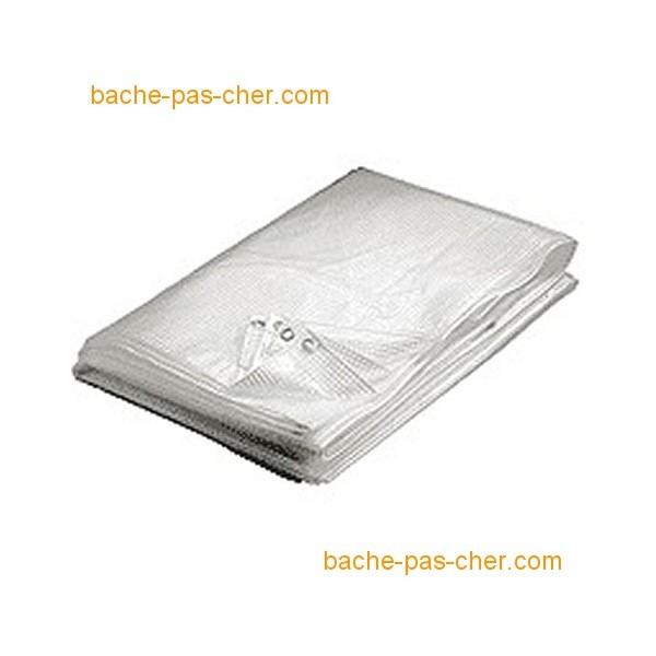B ches tanches 4 x 10 m translucide bache pas cher for Bache en pvc pas cher
