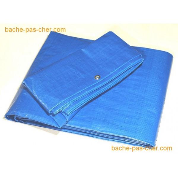 b ches de protection 5 x 8 m bleue bache pas cher. Black Bedroom Furniture Sets. Home Design Ideas