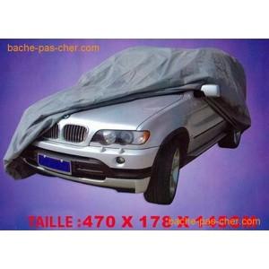 housse de protection pour voiture et 4x4 haut de gamme blanche 4 7 x x m bache. Black Bedroom Furniture Sets. Home Design Ideas