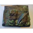Bâches Camouflage en PEHD - 140 gr - 3.6 x 5 m - Verte et noire
